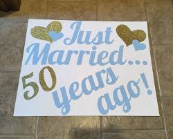 60 year anniversary party ideas just married 50 years ago 50th anniversary decorations all