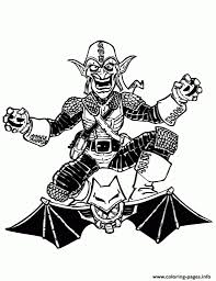 goblin coloring pages goblin halloween coloring book illustration