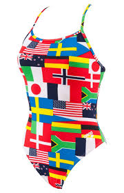 German Flag Bathing Suit Arena Ladies Flag Swimsuit