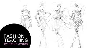 tips to draw better a fashion sketch in 4 minutes youtube