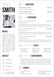template for resume colorful resume templates free publicassets us
