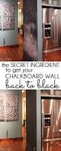 How To Wash Walls by Five Minute Friday How To Get Your Chalkboard Wall Back To Black