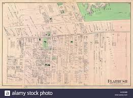 Prospect Park Map Antique Map Of Brooklyn Stock Photos U0026 Antique Map Of Brooklyn