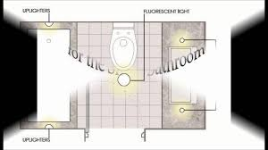 layout plans for bathroom recessed lighting interiordesignew com
