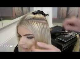 easilock hair extensions easilocks hair extensions application