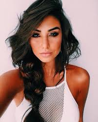 shoulder hairstyles with volume pιnтereѕт laυrenвoge hair styles pinterest makeup goal