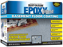 Rustoleum Garage Floor Coating Kit Instructions by Amazon Com Rust Oleum 203007 Basement Floor Kit Gray Home