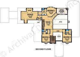100 upper floor plan the columbia custom home floor plan