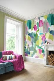 watercolor wallpaper for walls creative interior design best