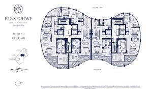 park grove floorplans miami condo lifestyle