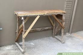 4 ways to make wood crafts wikihow