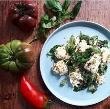 recette cuisine été tomates mozzarella marinées aux saveurs d été recette par