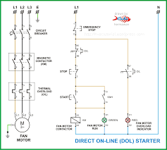 working of contactor a simple circuit diagram u2013 readingrat net
