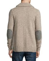 silver cardigan sweater original penguin shawl collar patch cardigan sweater silver