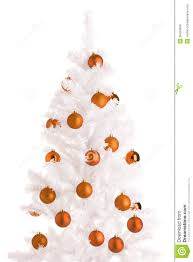 orange christmas tree compelling shiny gen baubles together with