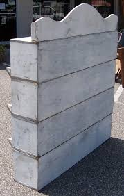 Cubby Hole Shelves by Wooden Cubby Hole Bid Shelf Unit