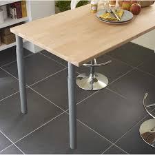 charmant plan de travail cuisine 70 cm avec pied de plan travail