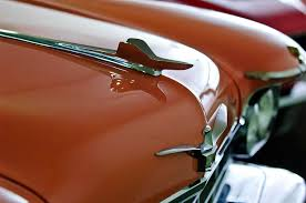 1958 chrysler imperial ornament photograph by reger