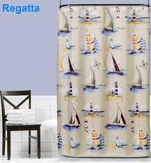 amazon com regatta fabric shower curtain home kitchen