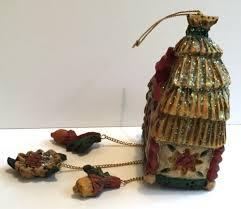pam schifferl santa claus cuckoo clock ornament acorn