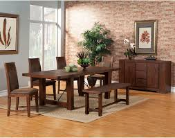 alpine furniture pierre 6 piece dining set with optional server