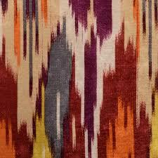 Velvet Chenille Upholstery Fabric Red Grey Velvet Upholstery Fabric Abstract Purple Fabric For