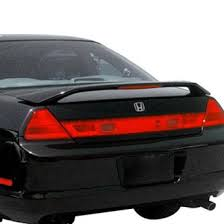 01 honda accord coupe 2001 honda accord spoilers custom factory lip wing spoilers