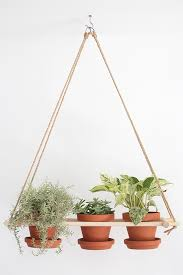 13 diy hanging planters to give your indoor garden a lift diy