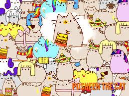 thanksgiving cat gif pusheen cat desktop wallpaper wallpapersafari