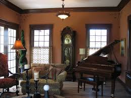 golden oak trim dark wood fascinating dining room paint colors