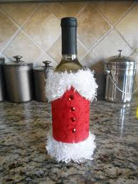 wine bottle christmas ideas santa wine bottles just of perfection