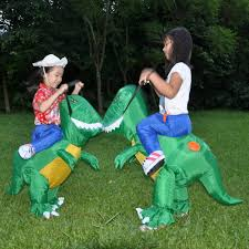 2017 inflatable dinosaur costumes for adults kids t rex dinosaur