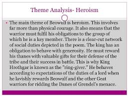 themes of beowulf poem beowulf bbl 3102 week 3 part 2 ppt video online download