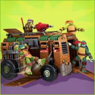 teenage mutant ninja turtles playmates toys