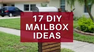 17 easy diy mailbox ideas decorative mailbox designs