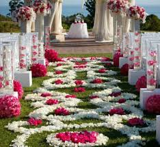 outside wedding decorations outdoor wedding aisle decorations wedding decoration ideas gallery