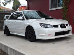 subaru sedan white finally found the one 2007 sti swp subaru