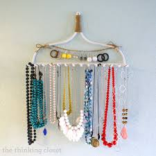 jewelry holder necklace images 54 necklaces holder necklace holder jewelry organizer blue in jpg