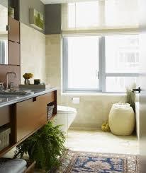 Oriental Bathroom Vanity by Dishy Oriental Bath Bathroom Eclectic With Vanity Mounted Toilet