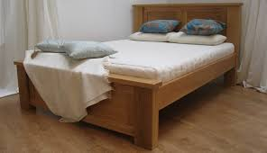 Oak Bed The Nevis Extra Strong Oak Bedframe Riverwood Bedmakers