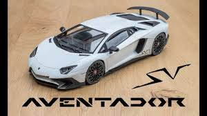 lamborghini aventador sv 1 18 lamborghini aventador sv white kyosho ousia unboxing and