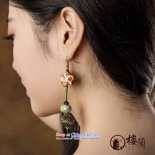 ear sense earrings china wind sheikhs wind earrings ancient retro decorations