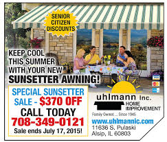 Sunsetter Awnings Reviews Awnings Uhlmann Home Improvement