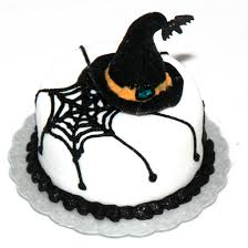 Halloween Witch Cake by Witches Hat Web Cake Stewart Dollhouse Creations