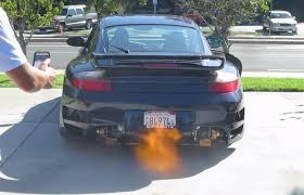 bisimoto porsche 996 bisimoto porsche 996tt revving shooting flames youtube