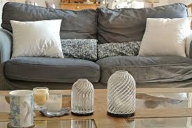 teindre un canapé en tissu unique housse pour assise de canape