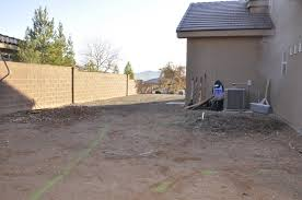 Backyard Concrete Patio by Concrete Patio Project Backyard Landscaping Update All Things