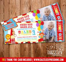 custom circus invitations printable circus invitations home design 2017