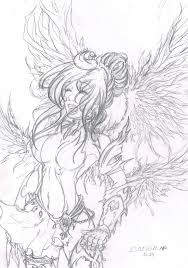 warrior angel by pandziaxd1882 on deviantart