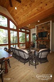 house plans with screened porch cottage style house plans screened porch